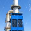 湿式静电除尘器的工作流程
